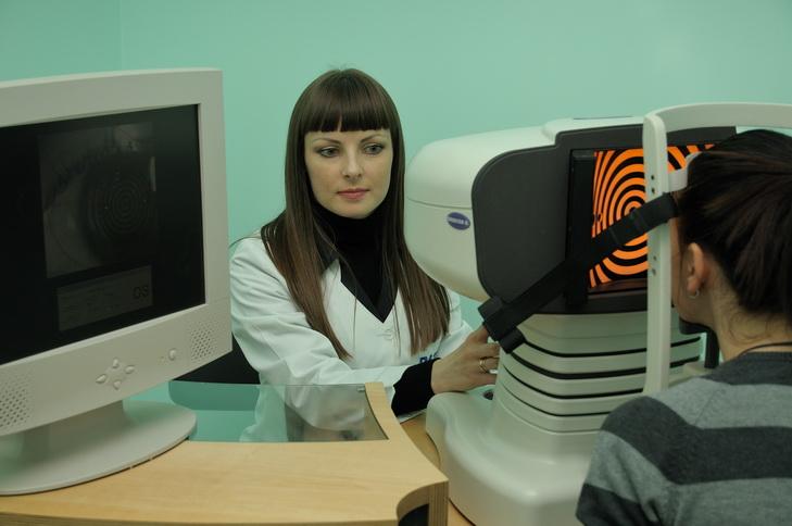 Деагностика миопии у детей